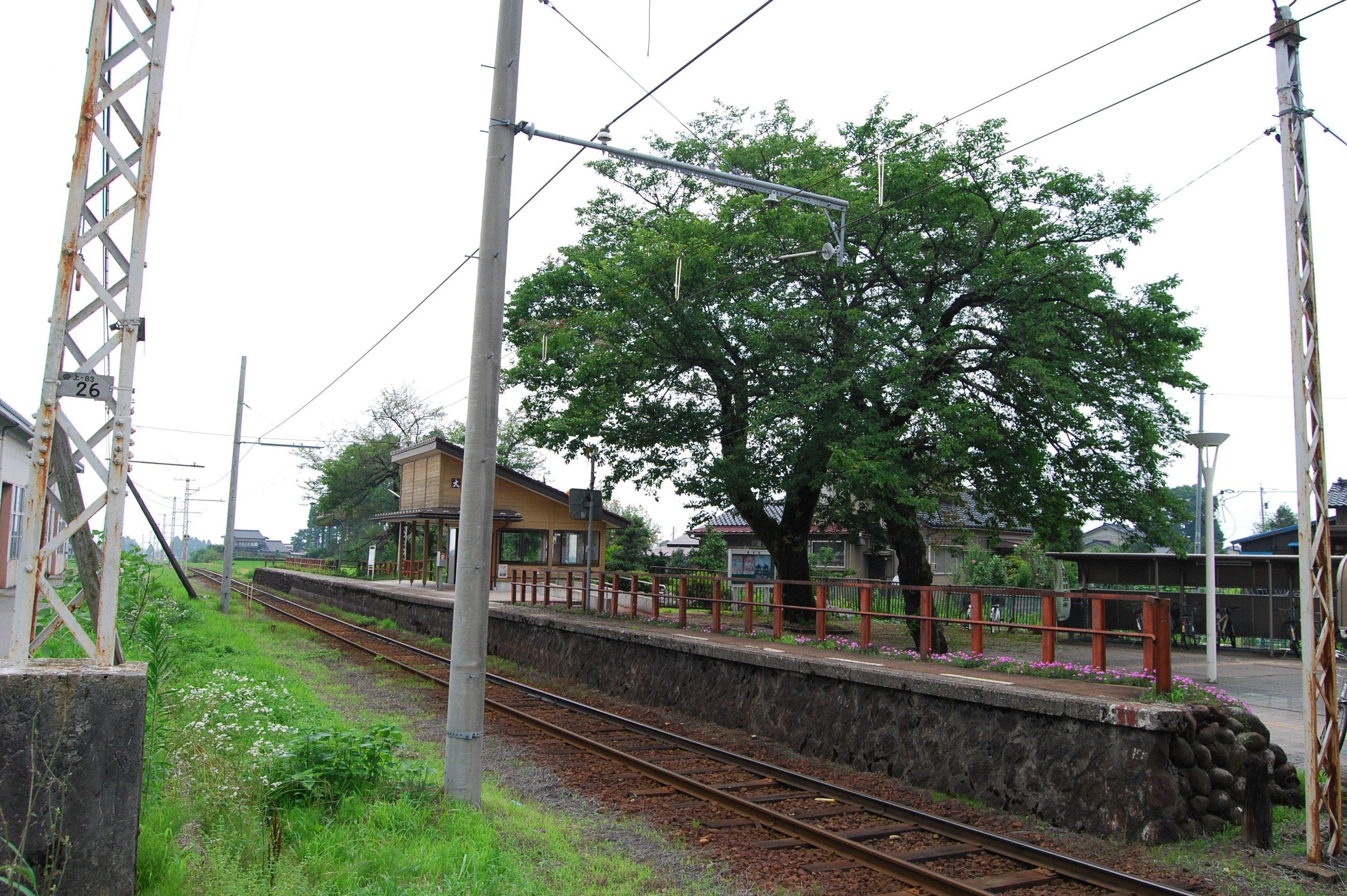 富山地方鉄道・大庄駅 | 富山フィルムコミッション