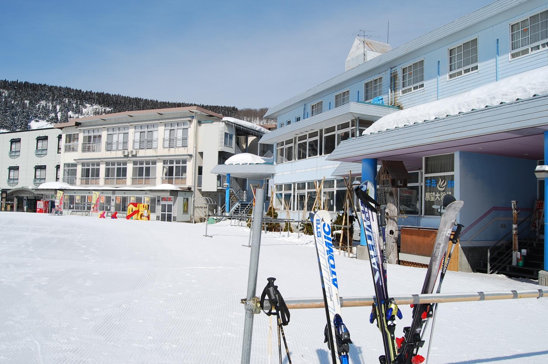 牛岳温泉スキー場   富山フィル...